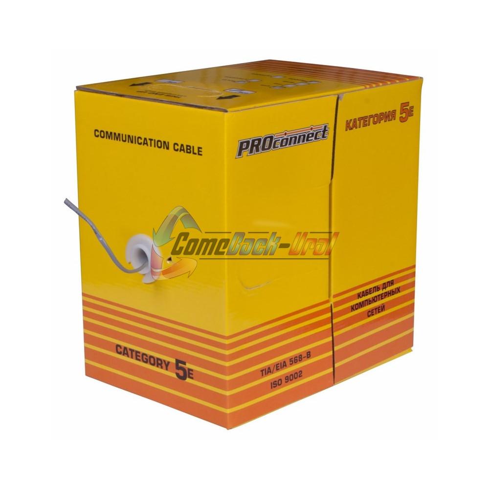 Кабель UTP 2PR 24AWG CAT5e 305м PROCONNECT