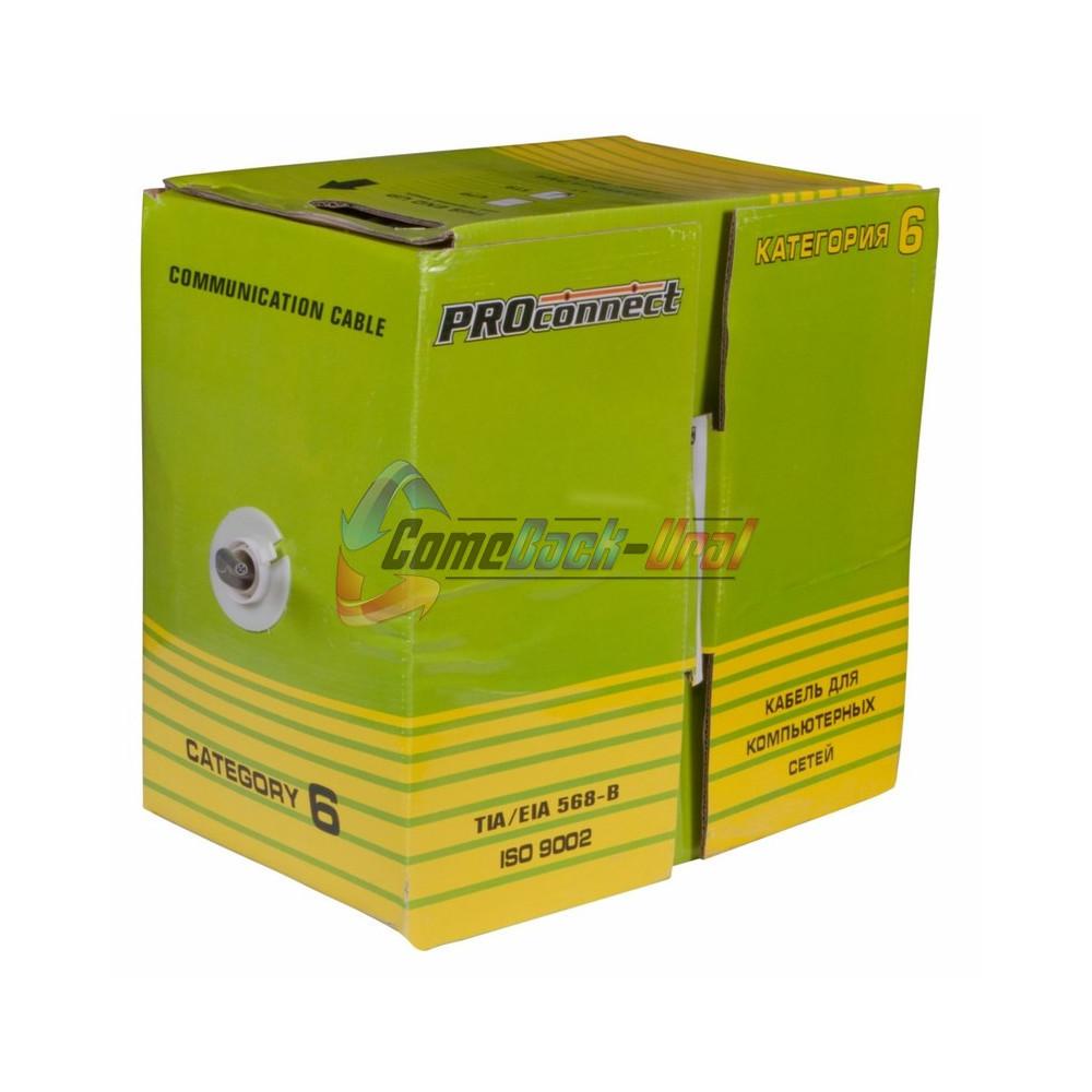 Кабель FTP 4PR 23AWG CAT6 305м CCA PROCONNECT