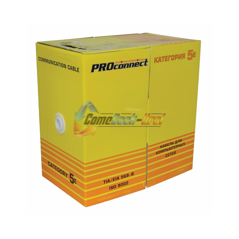Кабель FTP 4PR 24AWG CAT5e OUTDOOR, 305м CCA PROCONNECT