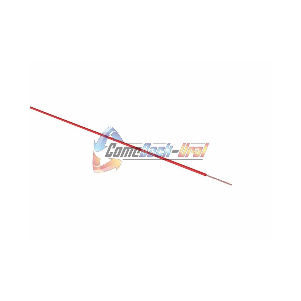 Провод ПГВА 1 х 0.75мм², 100м, КРАСНЫЙ REXANT