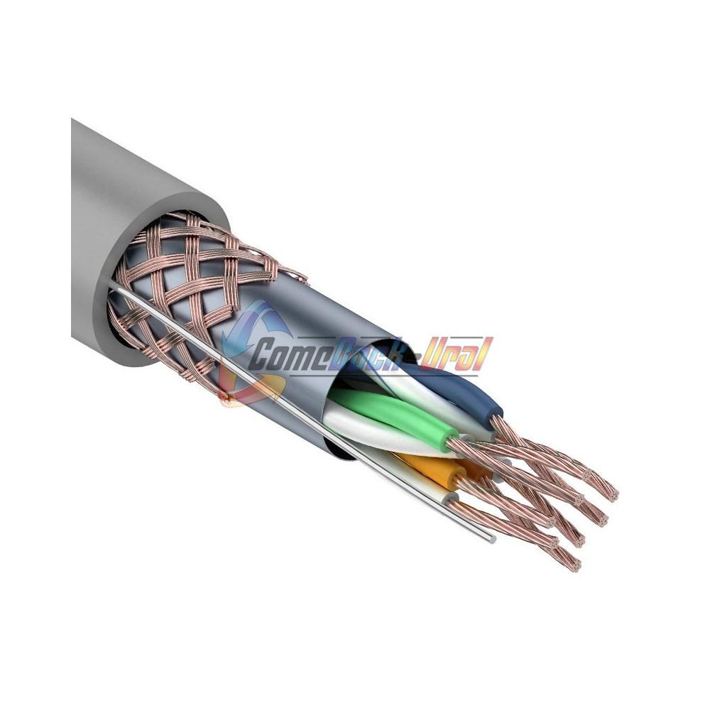 Кабель SFTP 4PR 24AWG CAT5e 305м STRANDED REXANT