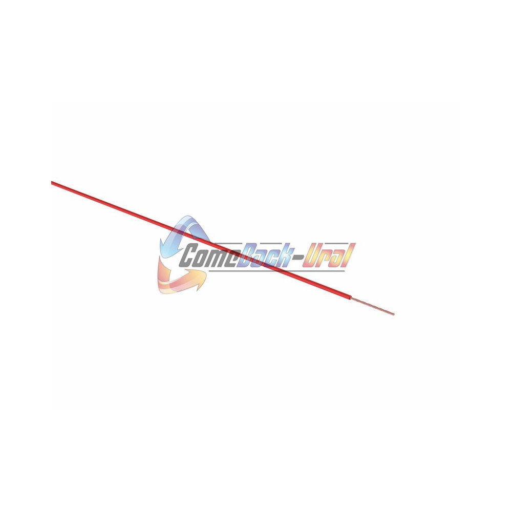 Провод ПГВА 1 х 0.50мм², 100м, КРАСНЫЙ REXANT