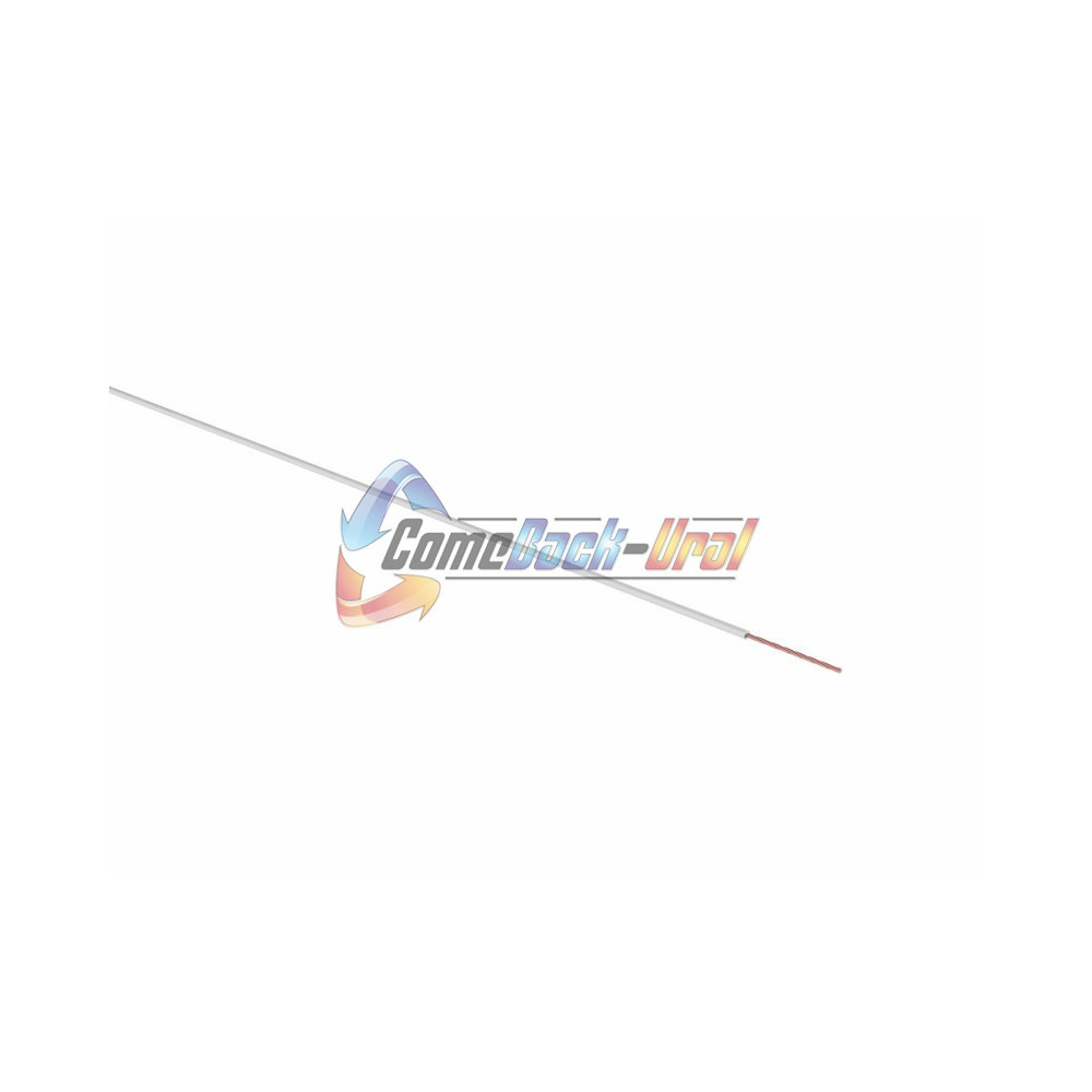 Провод ПГВА 1 х 0.75мм², 100м, БЕЛЫЙ REXANT