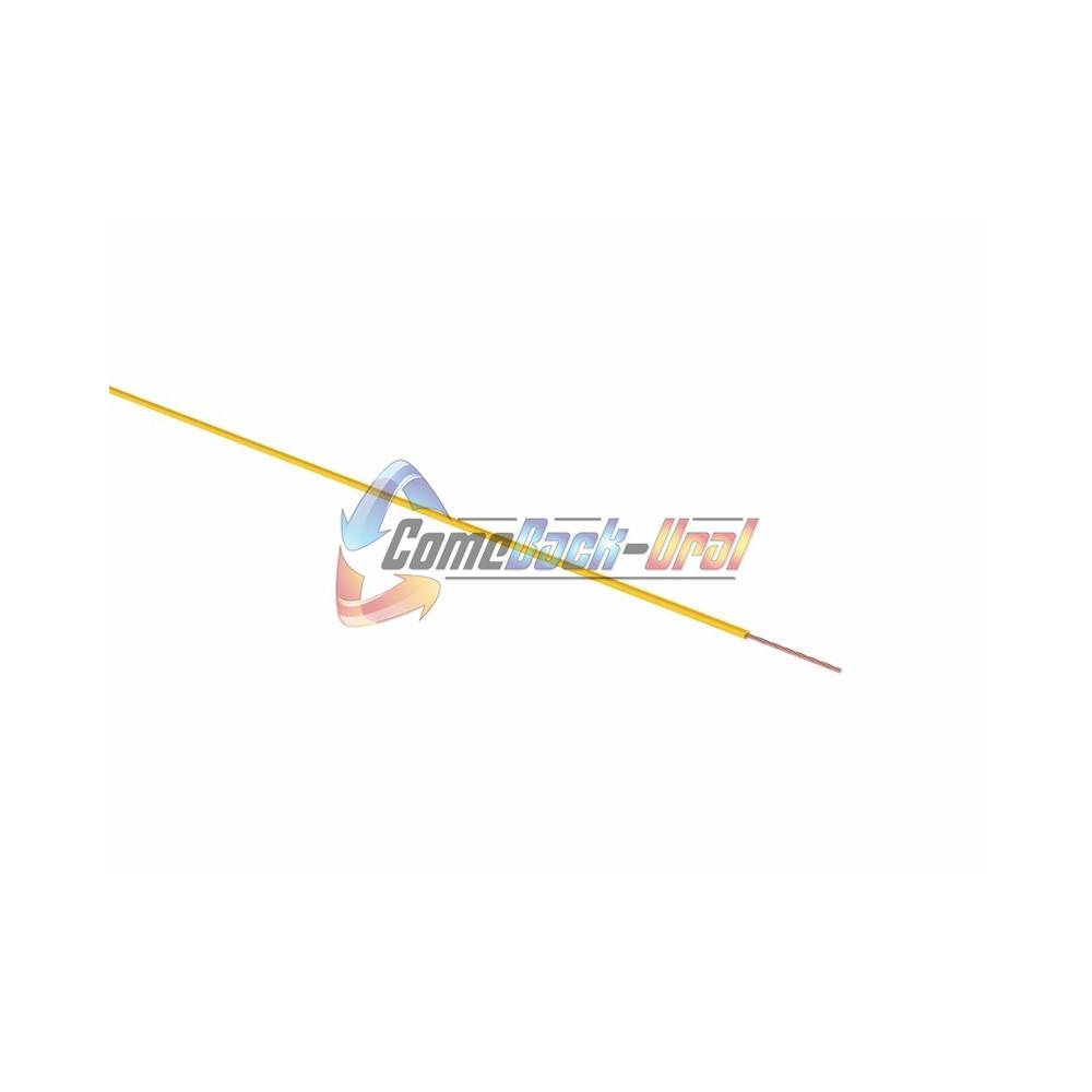 Провод ПГВА 1 х 2.50мм², 100м, ЖЕЛТЫЙ REXANT