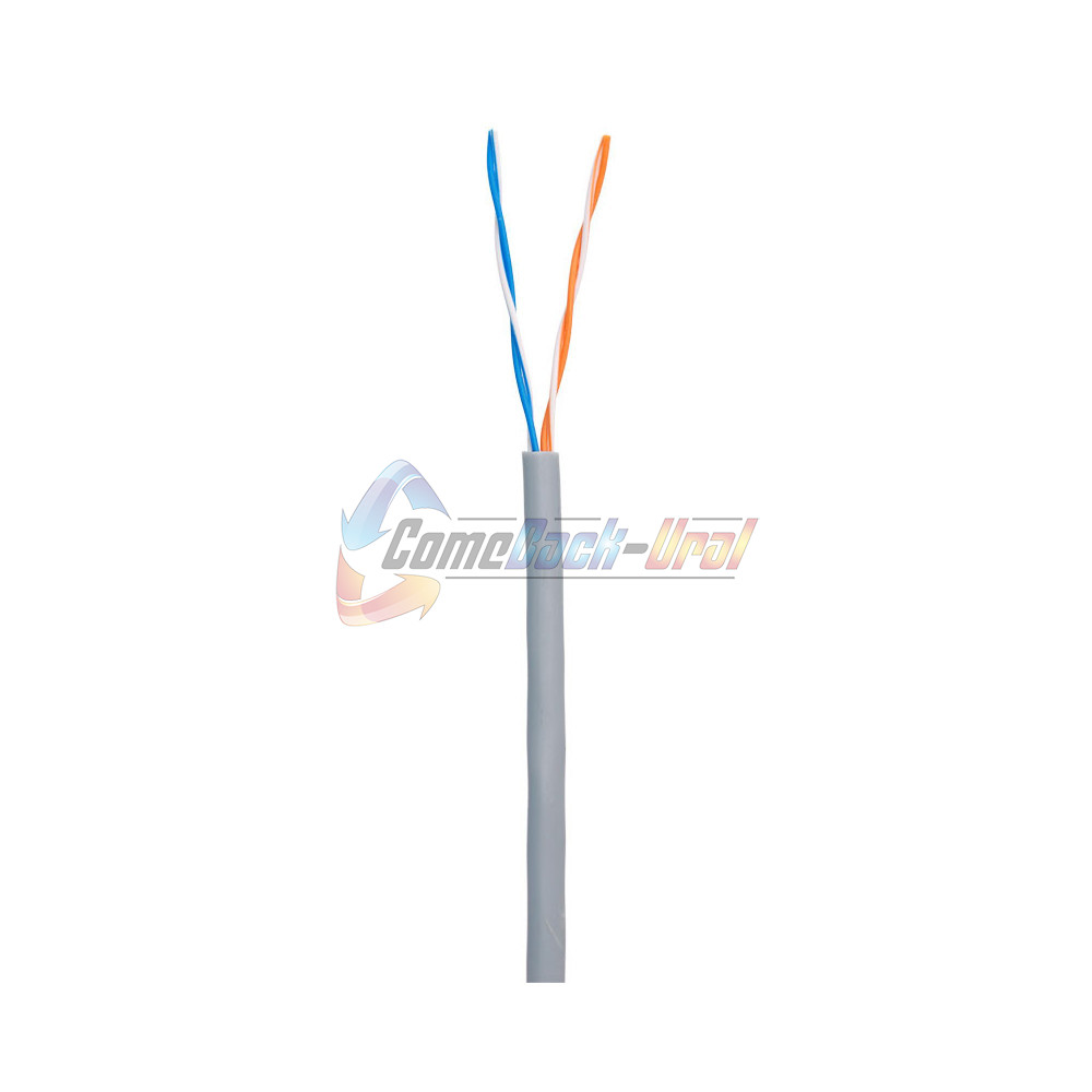Кабель UTP 2PR 24AWG 2х2х0,51 CAT5e 305м Cu Indoor (PVC) Skynet Premium