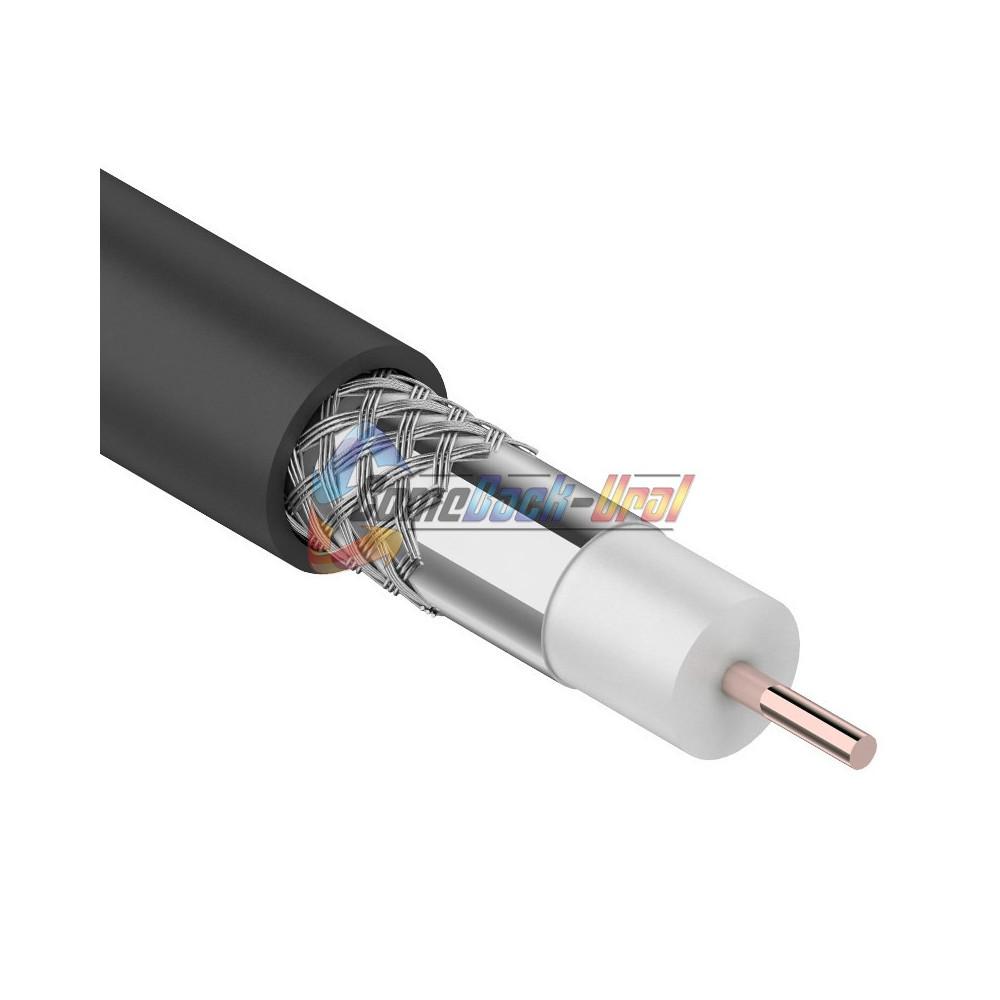 Кабель RG-6U, CCS/Al/Al (48%), 75 Ом, 100м., (OUTDOOR) PROCONNECT
