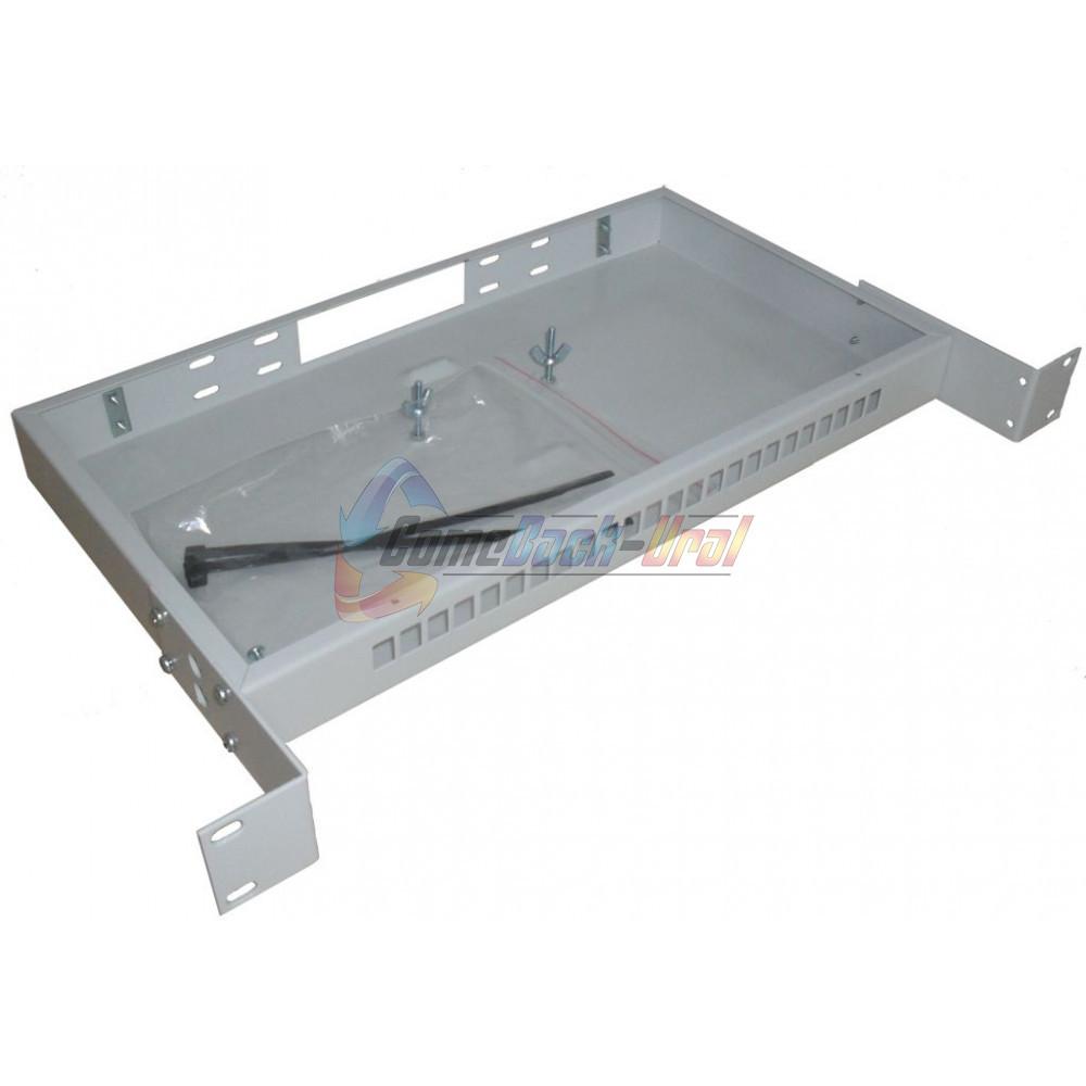 Шкаф ШКО-С-1U-24SC (сплошная панель)