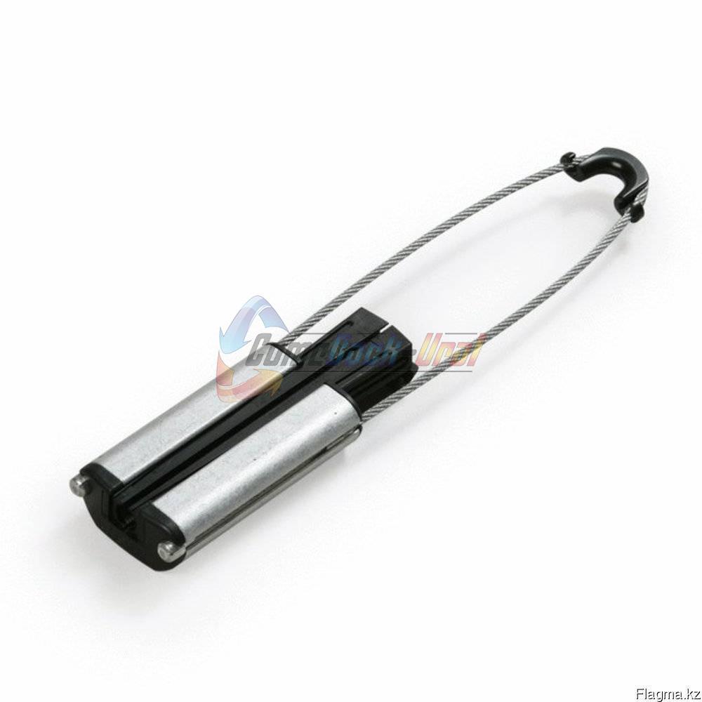 Зажим анкерный клиновой d=8-12мм, 15кН, для самонесущего кабеля, петля 250мм