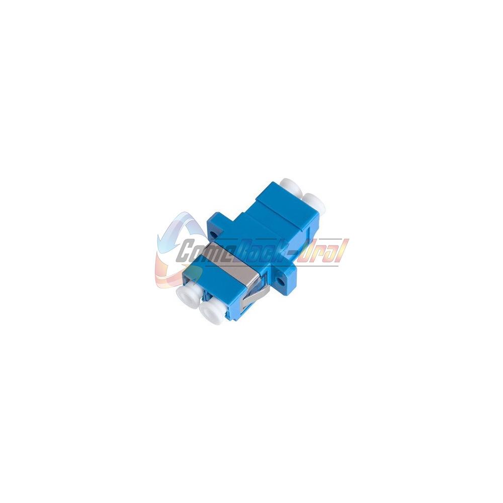 Адаптер LC/UPC duplex, SM/MM (в гнездо SC)