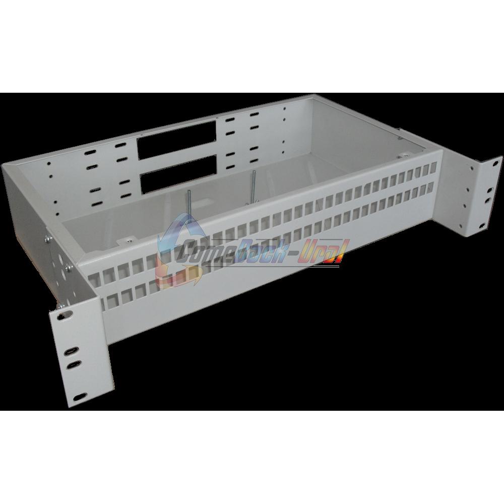 Шкаф ШКО-С-2U-64SC (сплошная панель)