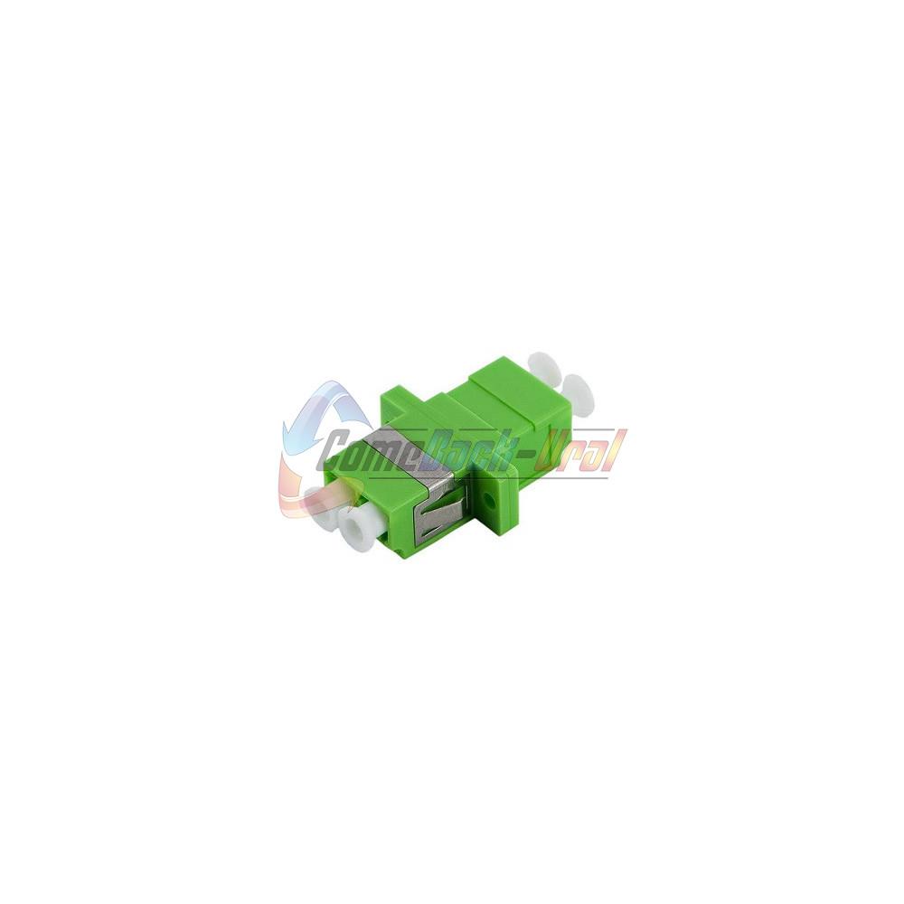 Адаптер LC/APC duplex, SM (в гнездо SC)