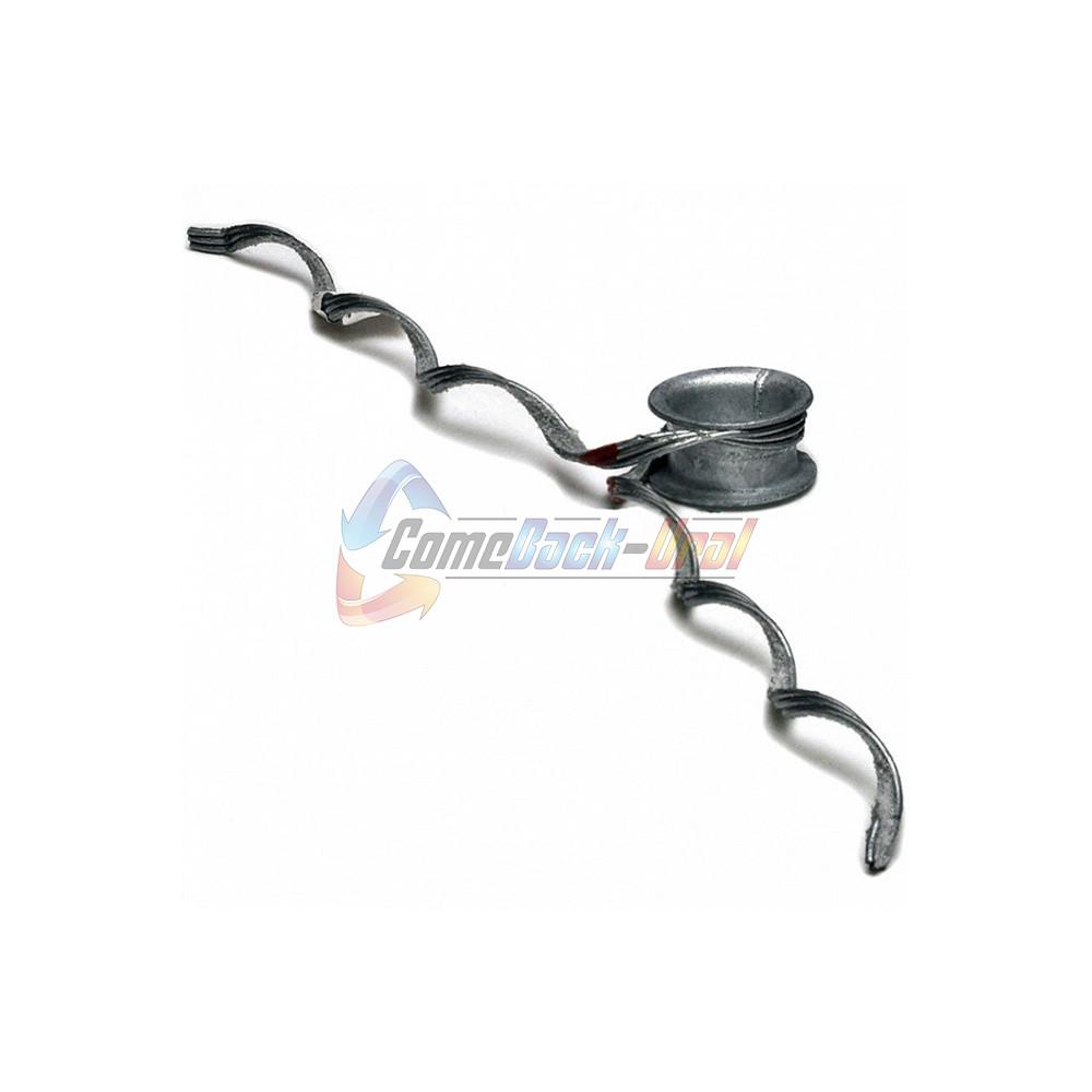 Зажим поддерживающий спиральный , без протектора, без коуша, ПСО-50-7,5/8,4 б/к