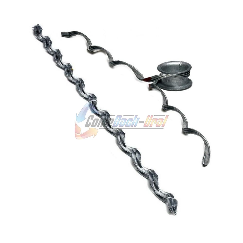 Зажим поддерживающий спиральный , с протектором, ПСО-110-10,6/11,6 П-К
