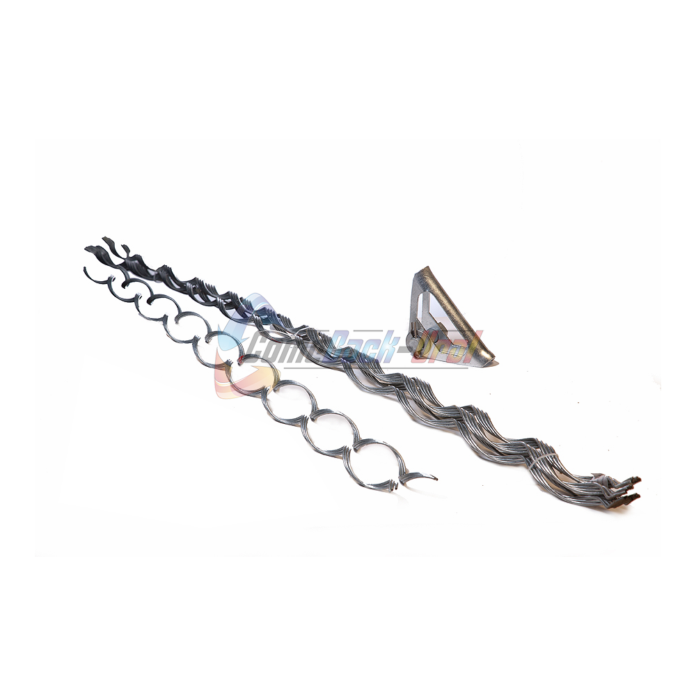 Зажим поддерживающий спиральный (коуш лодочка), с протектором, для пролетов до 500 метров ПСО-500-15,7/17,3 П-Л