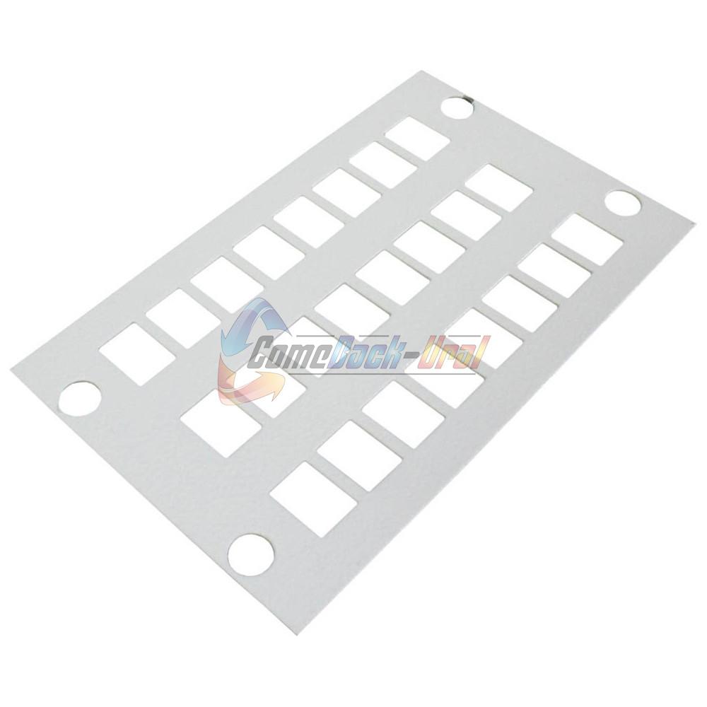 Планка сменная 24SC/LC duplex (для настенного кросса 48п)