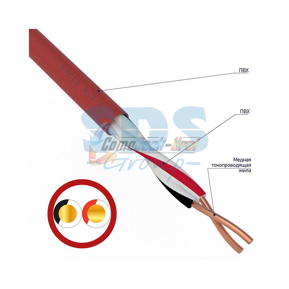 Кабель КПСВВнг(А)-LS 1х2х0,75 мм², 200м, REXANT