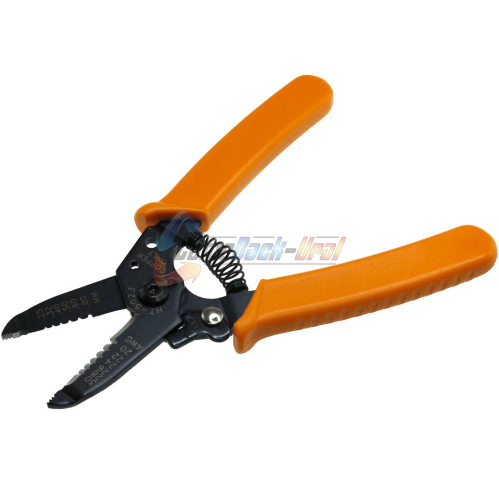 Инструмент для зачистки кабеля 0.4 - 1.3 мм² (HT-5022) (TL-5022) REXANT