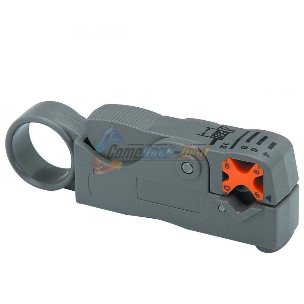 Инструмент для зачистки коаксиального кабеля RG-58, RG-59, RG-6 (HT-332) (TL-332) REXANT
