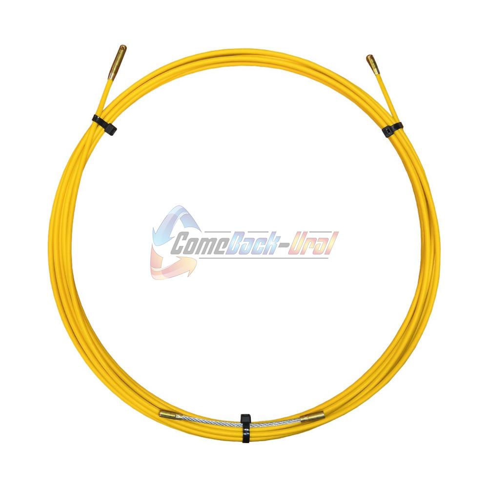 Протяжка кабельная (мини УЗК в бухте), стеклопруток, d=3,0мм, 10м ProConnect