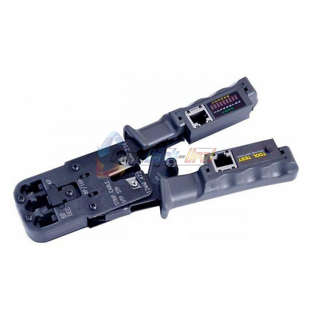 Кримпер-тестер кабеля 8p8c/6P6C/6P4C REXANT