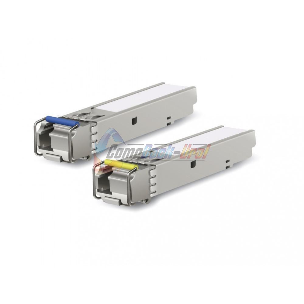 Модуль SFP WDM, дальность до 3км, Tx1310/Rx1550нм, 1.25G, SC, DDM