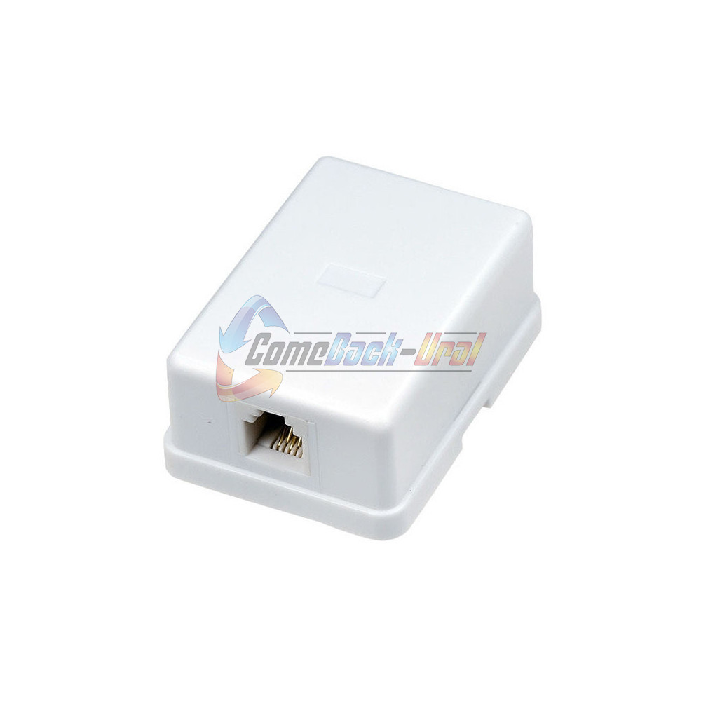 Телефонная розетка - 1 6P-4C REXANT