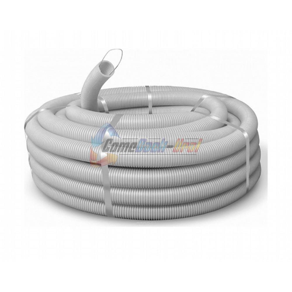 Труба гофрированная ПВХ 32 лег. с протяжкой (50 м/уп)