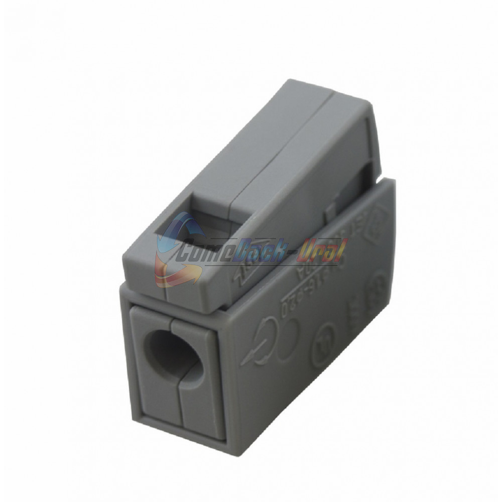 224-101 Клемма для осветительного оборудования (1,0-2,5)/(0,5-2,5)мм2 100шт/уп. WAGO