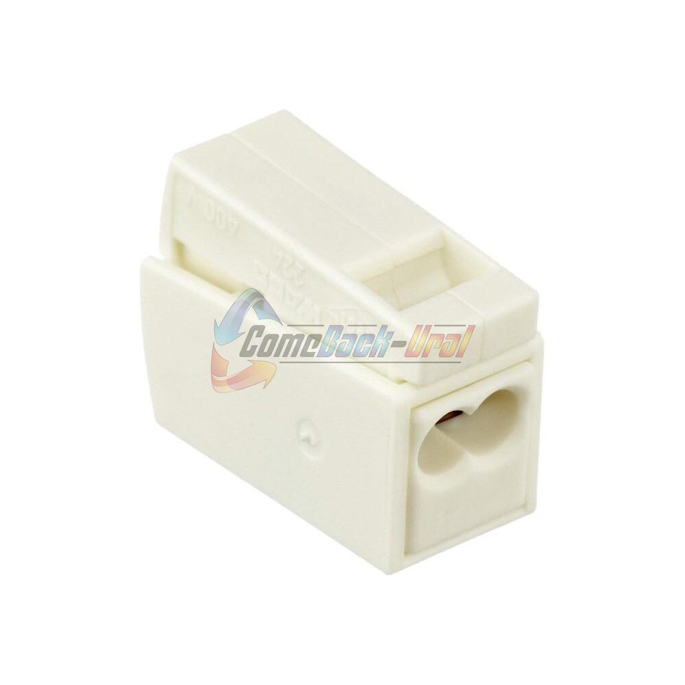 224-112 Клемма для осветительного оборудования (1,0-2,5)X2/ (0,5-2,5)мм2 100шт/уп. WAGO