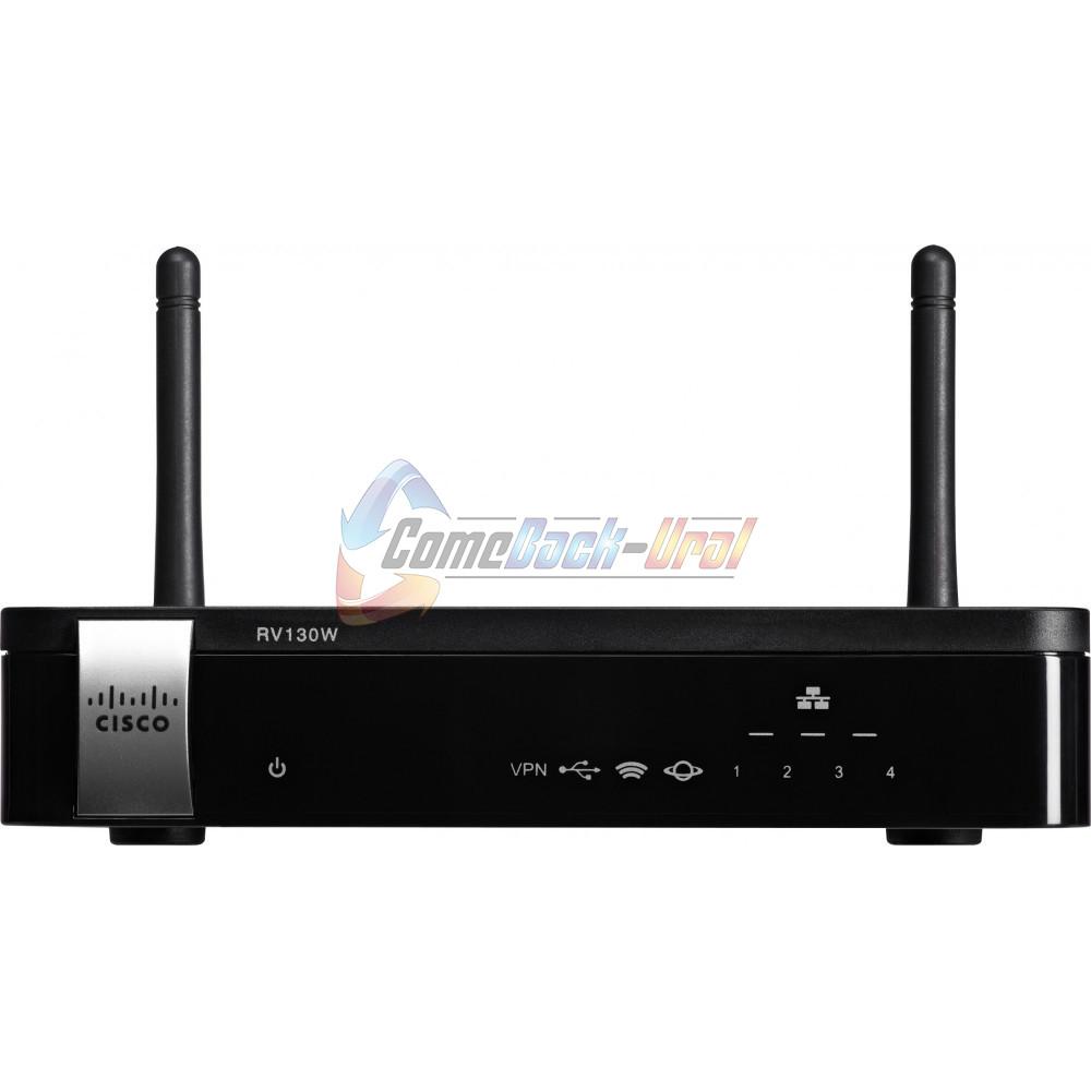 RV130W-WB-E-K8-RU Беспроводной маршрутизатор Cisco RV130W Wireless-N Multifunction VPN Router with Web Filtering