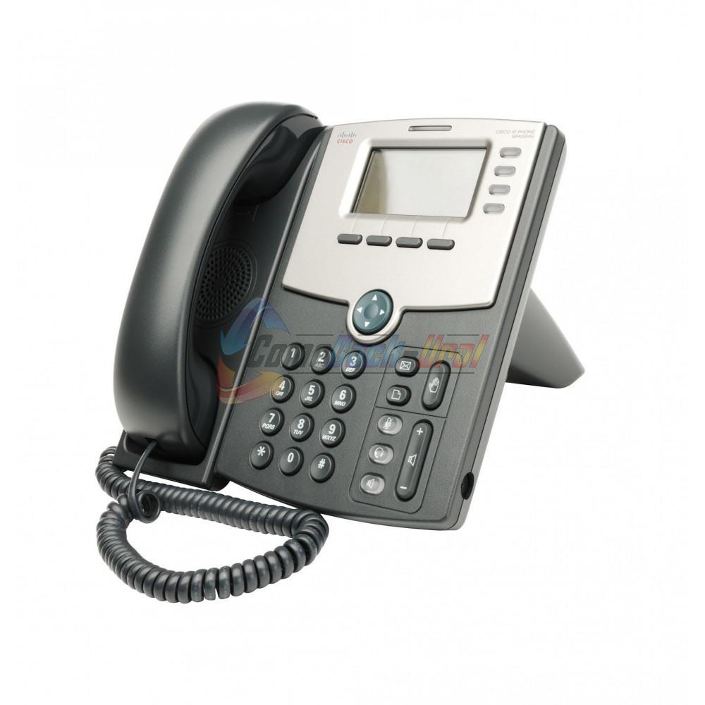 SPA504G-XU SPA504G Телефон 4 Line IP Phone With Display, PoE and PC Port