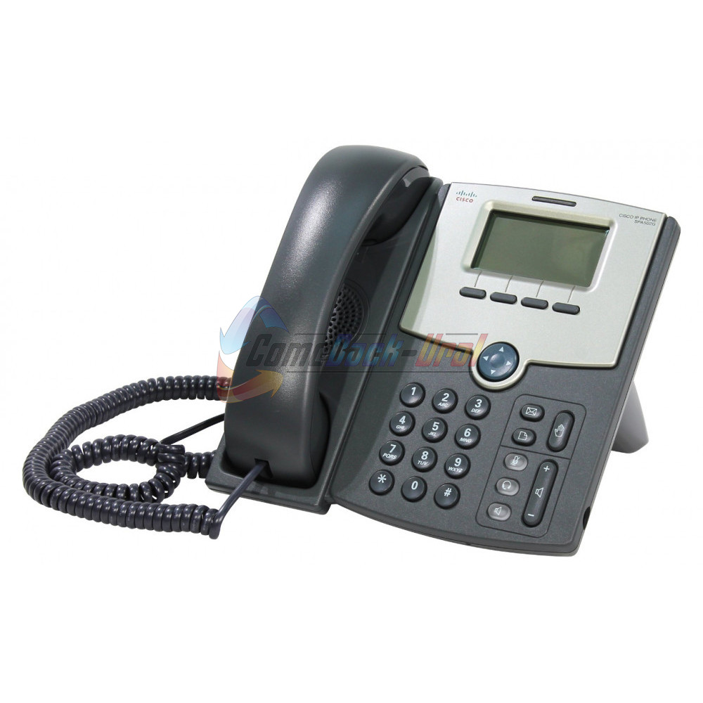 SPA502G-XU SPA502G Телефон 1 Line IP Phone With Display, PoE, PC Port