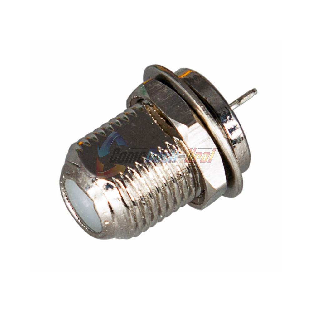РАЗЪЕМ гнездо F на корпус с контактом (03-035A) PROCONNECT
