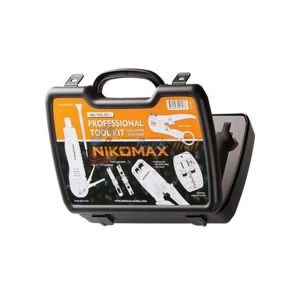 Набор инструментов, комплект №1, для медных сетей NIKOMAX